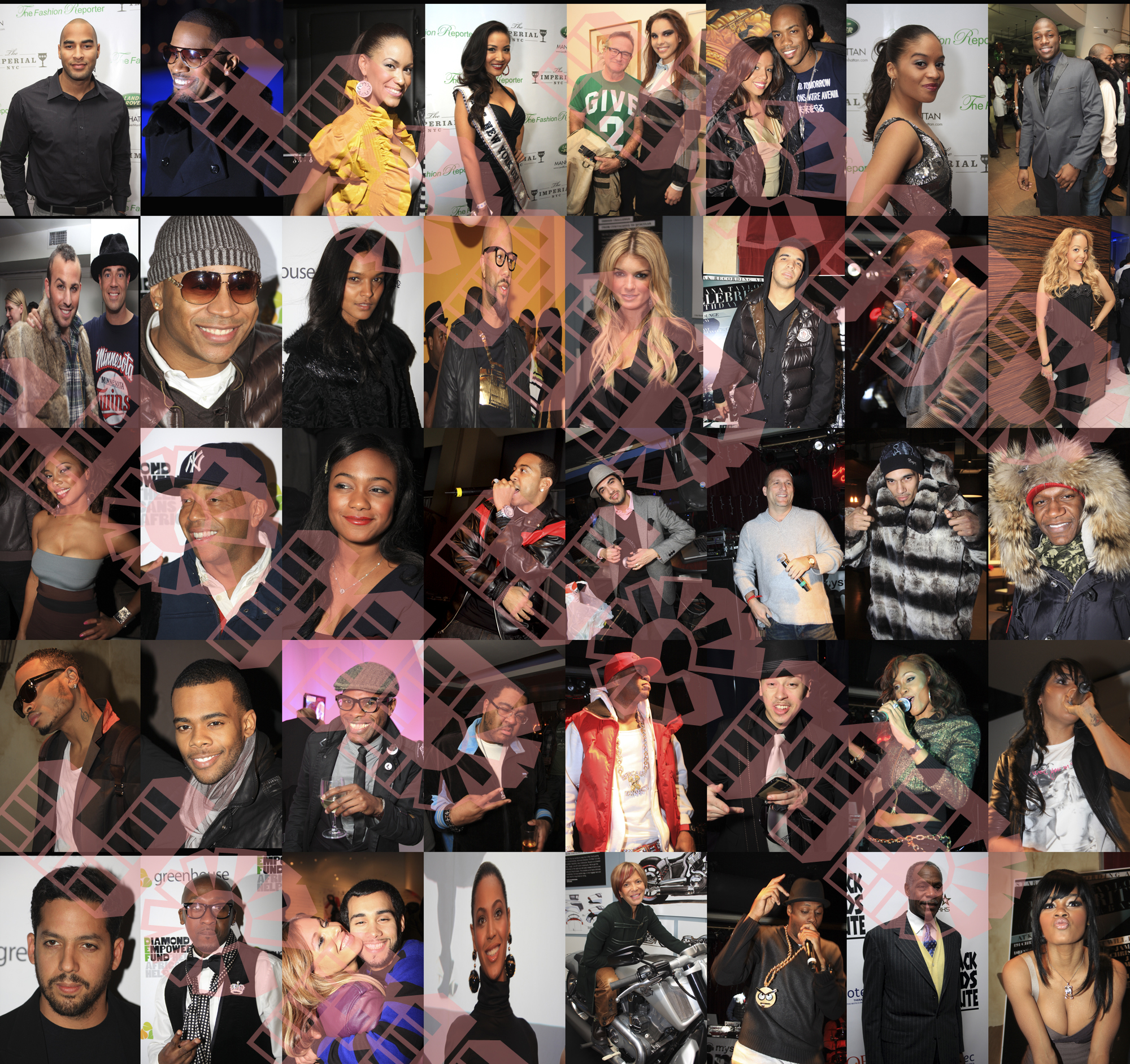 Celebrity Collage: Smoothing The Edge - YouTube